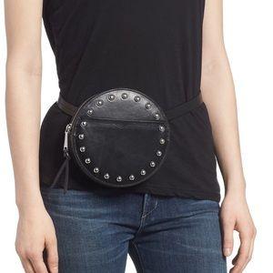 Rebecca Minkoff Loki Studded Leather Belt Bag